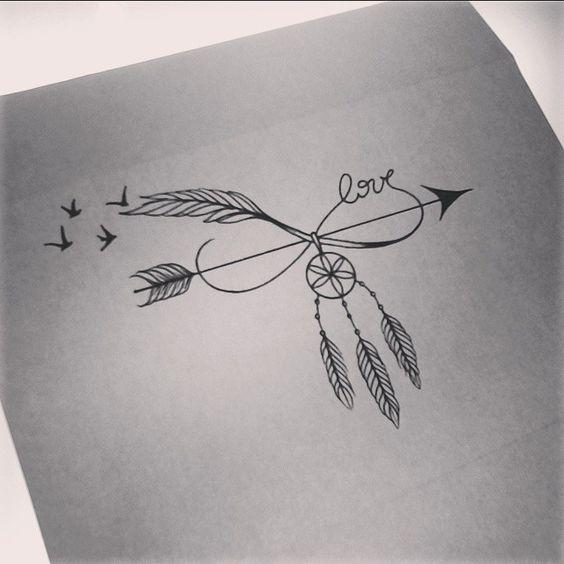 Beautiful Infinity Tattoo Designs