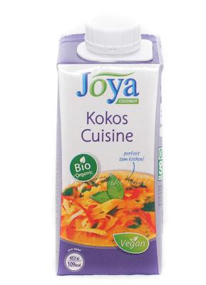 Joya Organic coconut cuisine.