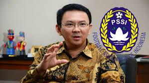 Ahok gagal jadi ketua umum PSSI ?1