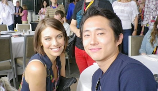 Steven Yeun And Lauren Cohan Engaged