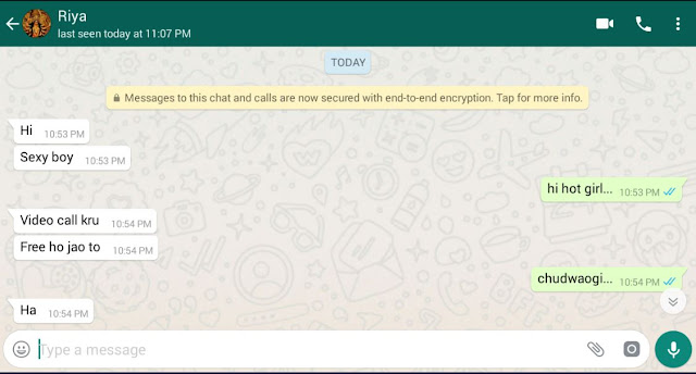 whatsapp sex chat free