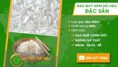 Đại lý cung cấp gạo quy năm ngon uy tín tại Hải Hậu