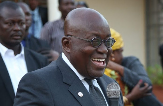 President Nana Addo finally declares his assets, leadership by example.