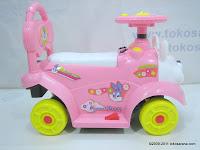 3 Mobil Mainan Aki JUNIOR JB27B Pretty Baby - Small