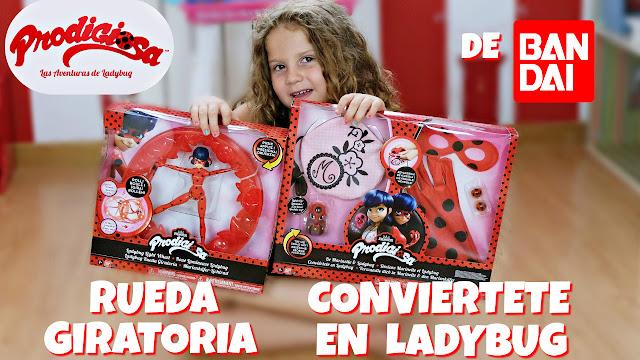 juguetes prodigiosa ladybug - miraculous ladybug toys - Bandai