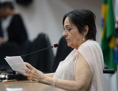 Maria da Penha abre fórum nacional de enfrentamento de violência contra a mulher