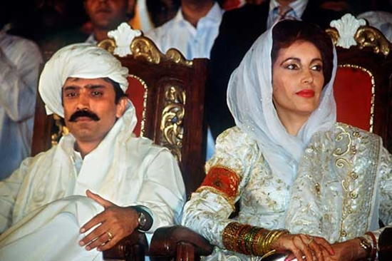 Benazir-asif-zardari-wedding-photos