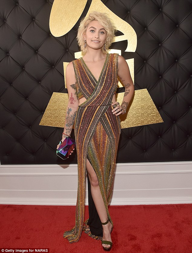 Paris Jackson - Grammy Awards 2017
