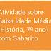 Atividade sobre Baixa Idade Média (História, 7º ano) com Gabarito