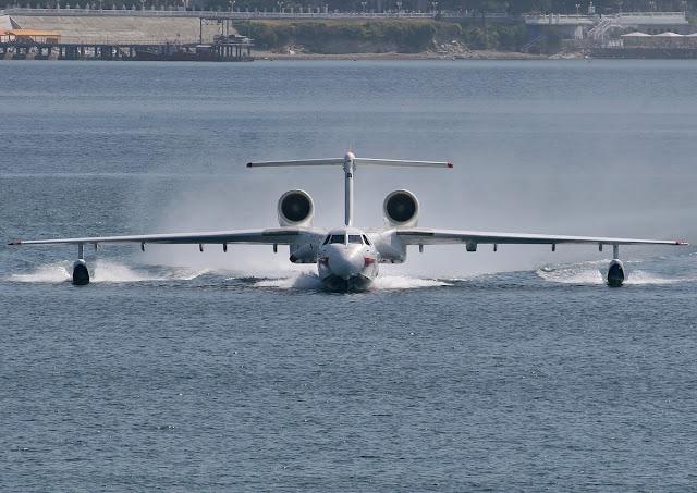 Beriev A-42PE Albatros Water Landing
