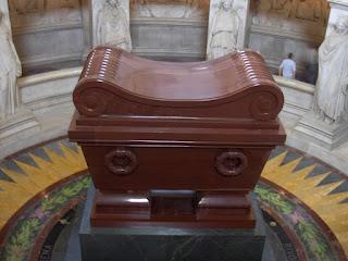 Tumba de Napoleón en el Dome - Los Inválidos