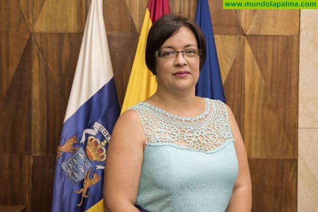 """Mayte Rodríguez: """"El Consejo de la Juventud otra asignatura suspendida del Gobierno Insular"""""""