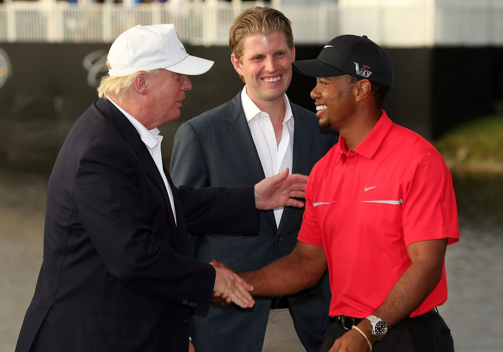 TIGER WOODS, DONALD TRUMP 5