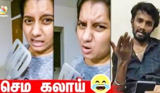 Vj Priyanka-வை Mokka பண்ண Dheena | Super singer, MaKaPa, Kpy, Pugazh