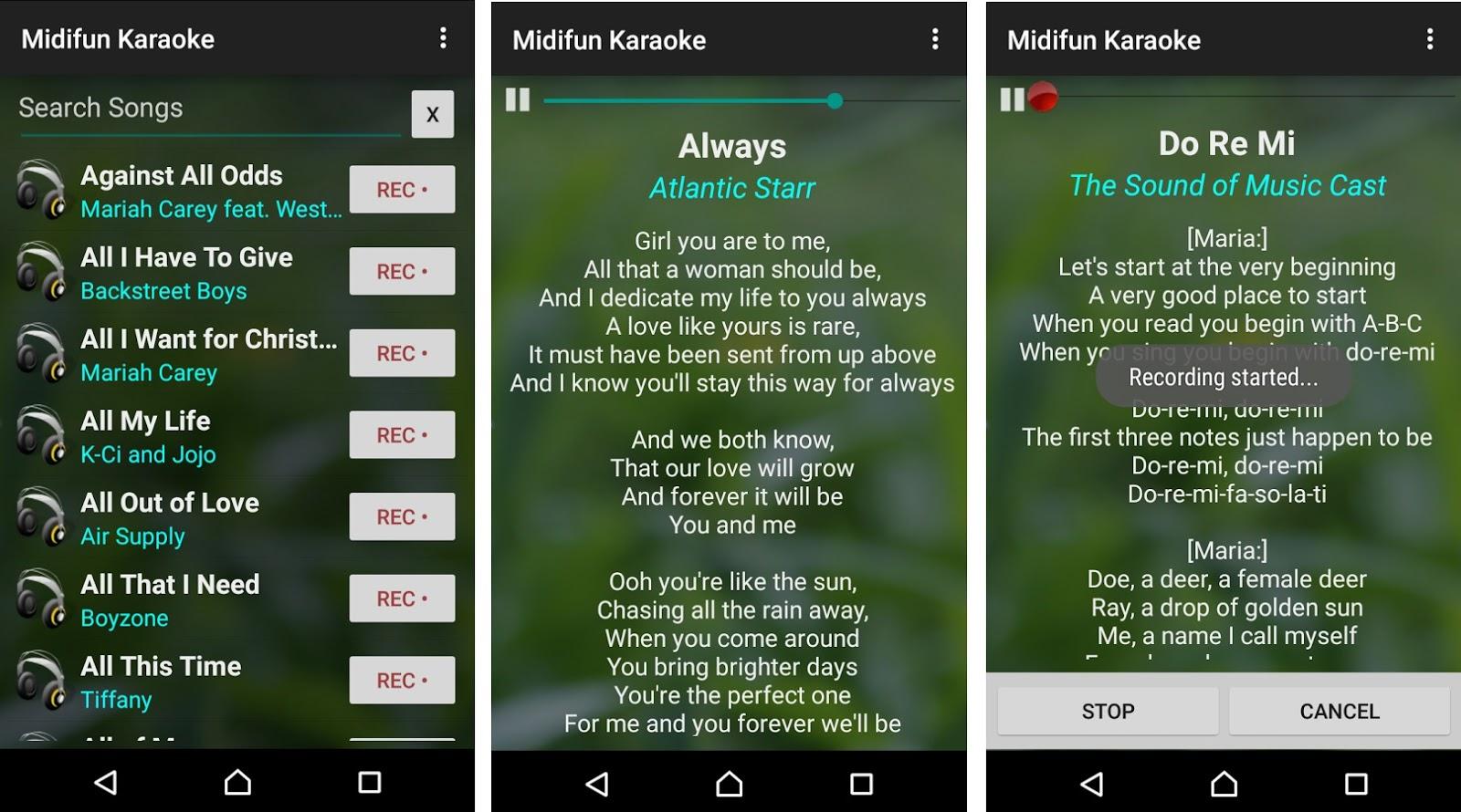 Kumpulan Aplikasi Karaoke Online Terbaik Di Android Gratis Juara Tekno