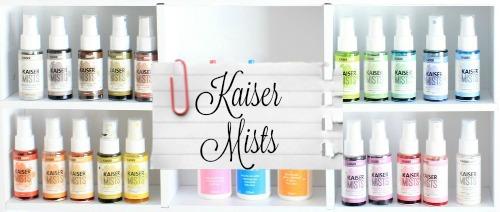 Kaisercraft Kaisermists By Alicia McNamara