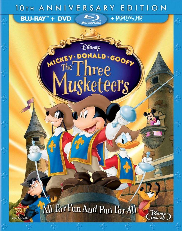 Mickey Donald Goofy The Three Musketeers (2004) มิกกี้เมาท์ สามทหารเสือ