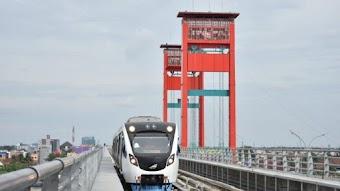 6 Jembatan di Palembang Yang berada di Sungai Musi