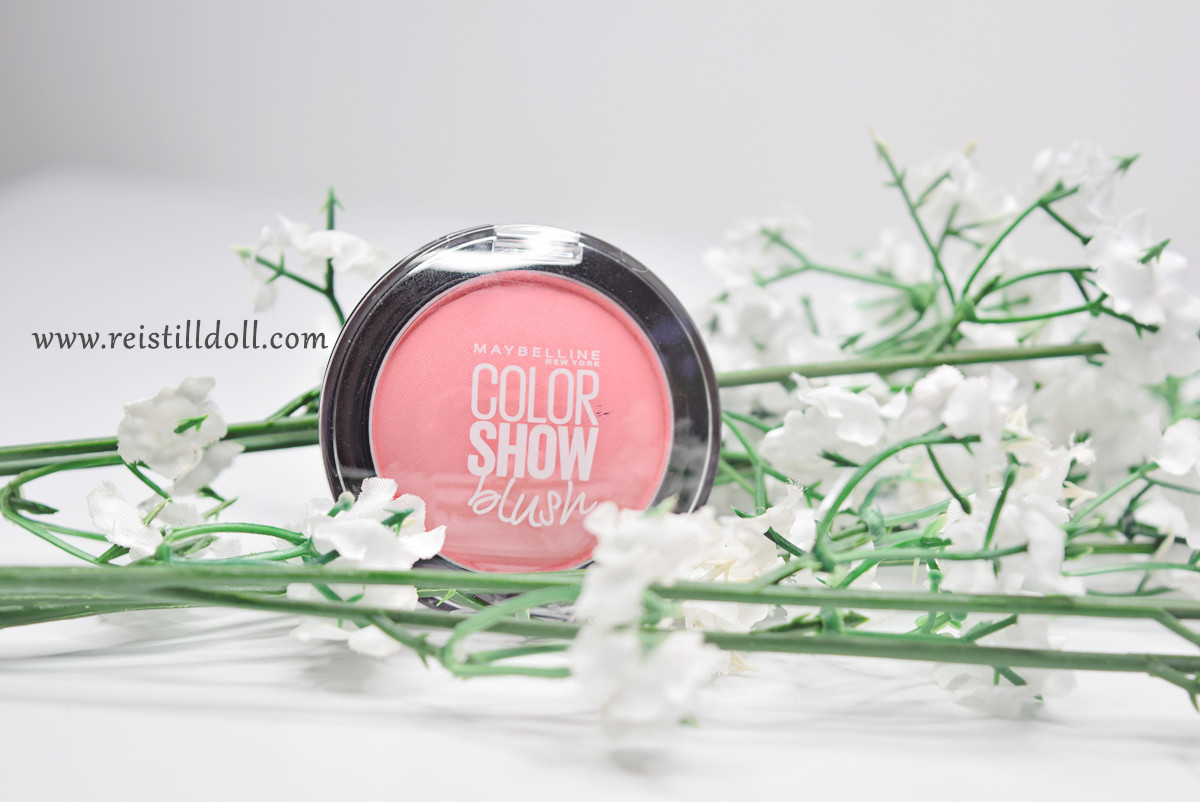 Maybelline Color Show Blush Peachy Sweetie Rei Stilldoll On