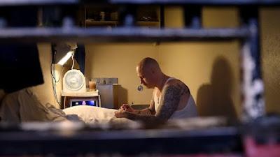 Death row, San Quentin prison, California