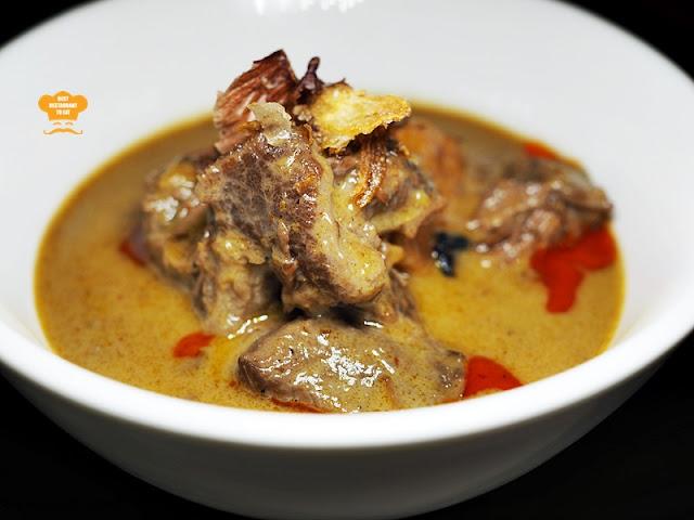 Southern Thai Food - Pak Tai MASSAMAN NUA - Stewed Wagyu Beef Cheek