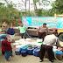 Kekeringan, Polsek Tulakan Polres Pacitan Salurkan Air Bersih