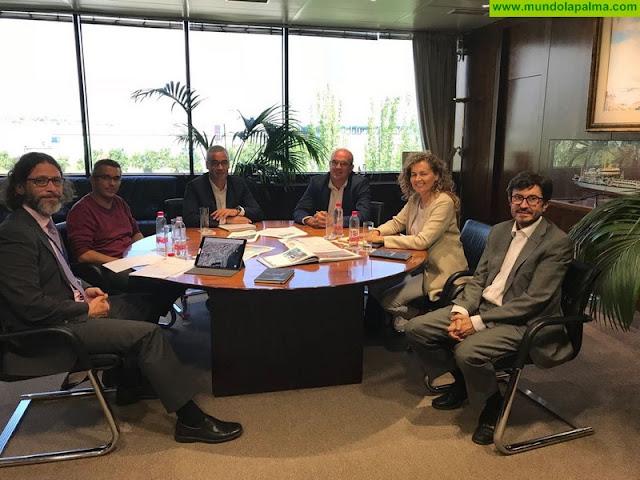 El Ayuntamiento de Santa Cruz de La Palma valora la voluntad de Puertos del Estado para el acuerdo en el uso de espacios portuarios
