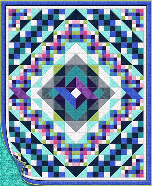 Square Knot Quilt Free Pattern designed By Bear Creek Quilting Company