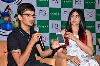 Bollywood Actress Adah Sharma Pos in White Printed Short Dress at OPPO F3 Plus Selfie Expert Mobile Launch .COM 0080.jpg