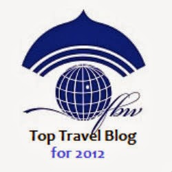 2012 FBW Top Travel Blog