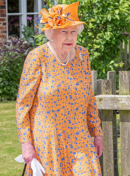 Queen Elizabeth visited the Royal Manchester Children's Hospital to victims of the Manchester Arena terror attack and also visited the Lower Castle Hayes farm