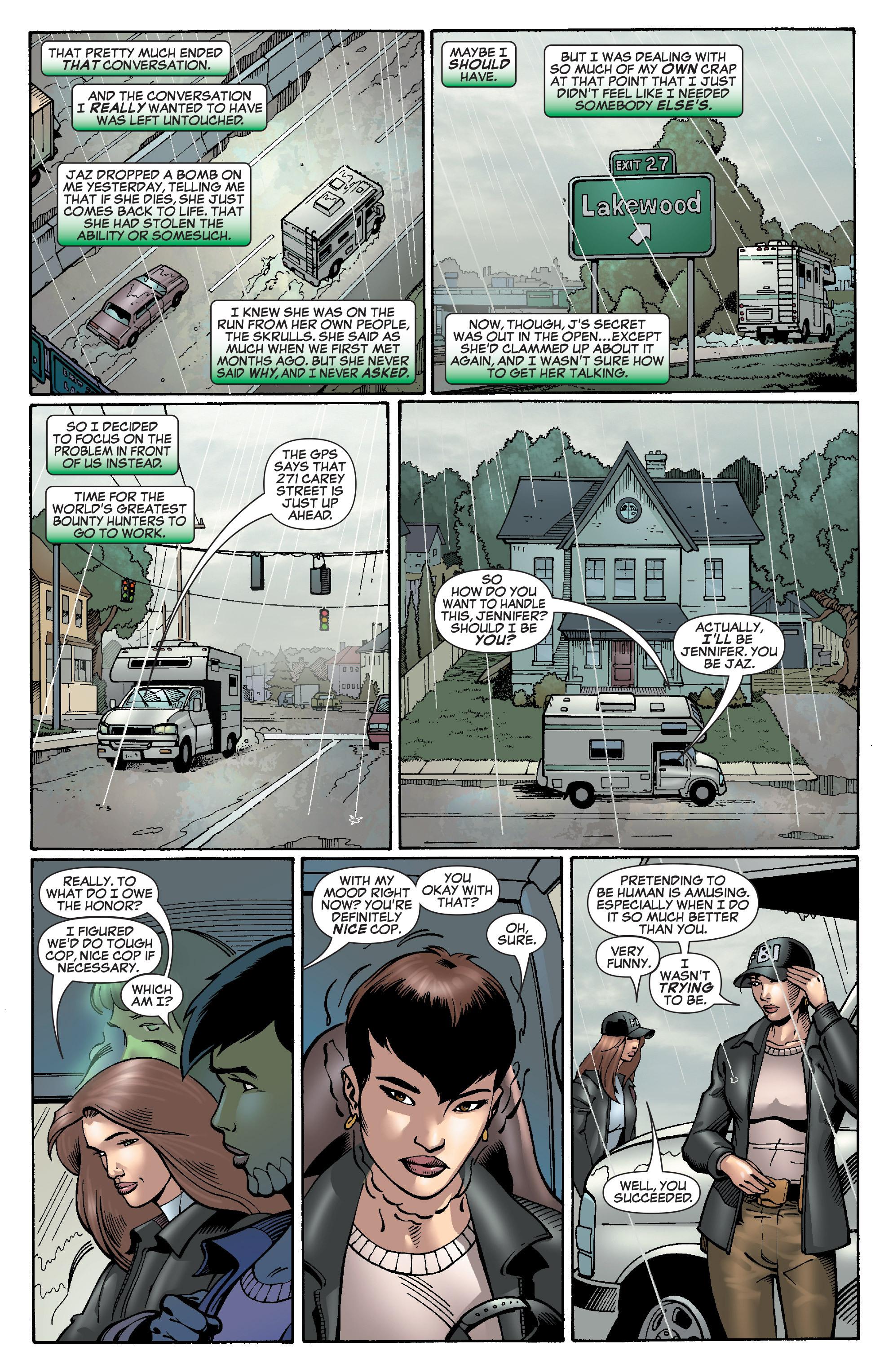 Read online She-Hulk (2005) comic -  Issue #28 - 7