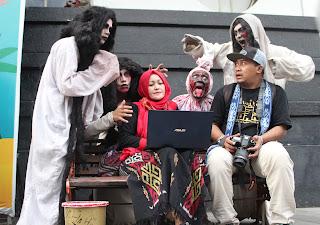 Zenbook with Cosplay Bandung