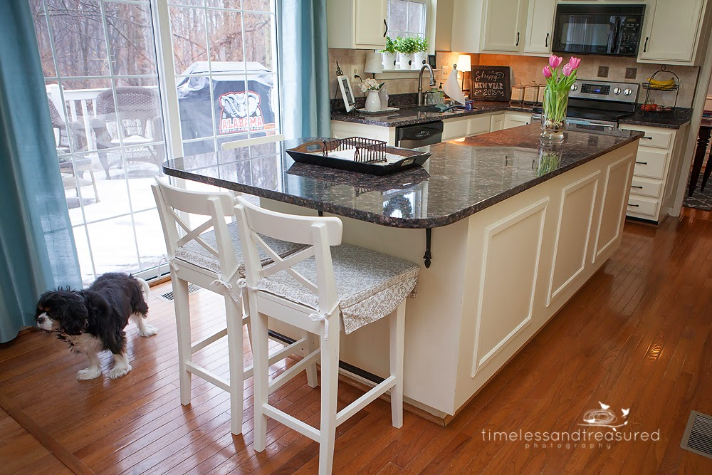 kitchen island with end seating timeless and treasured my three week two 8247