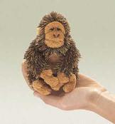 gorilla finger puppet