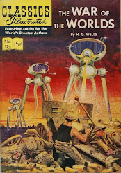 CLASSICS ILLUSTRATED #124 THE WAR OF THE WORLDS BY H.G. WELLS!