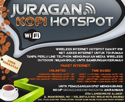 10 Contoh Desain Spanduk Warung Kopi Free Wifi Arif Wahyuni