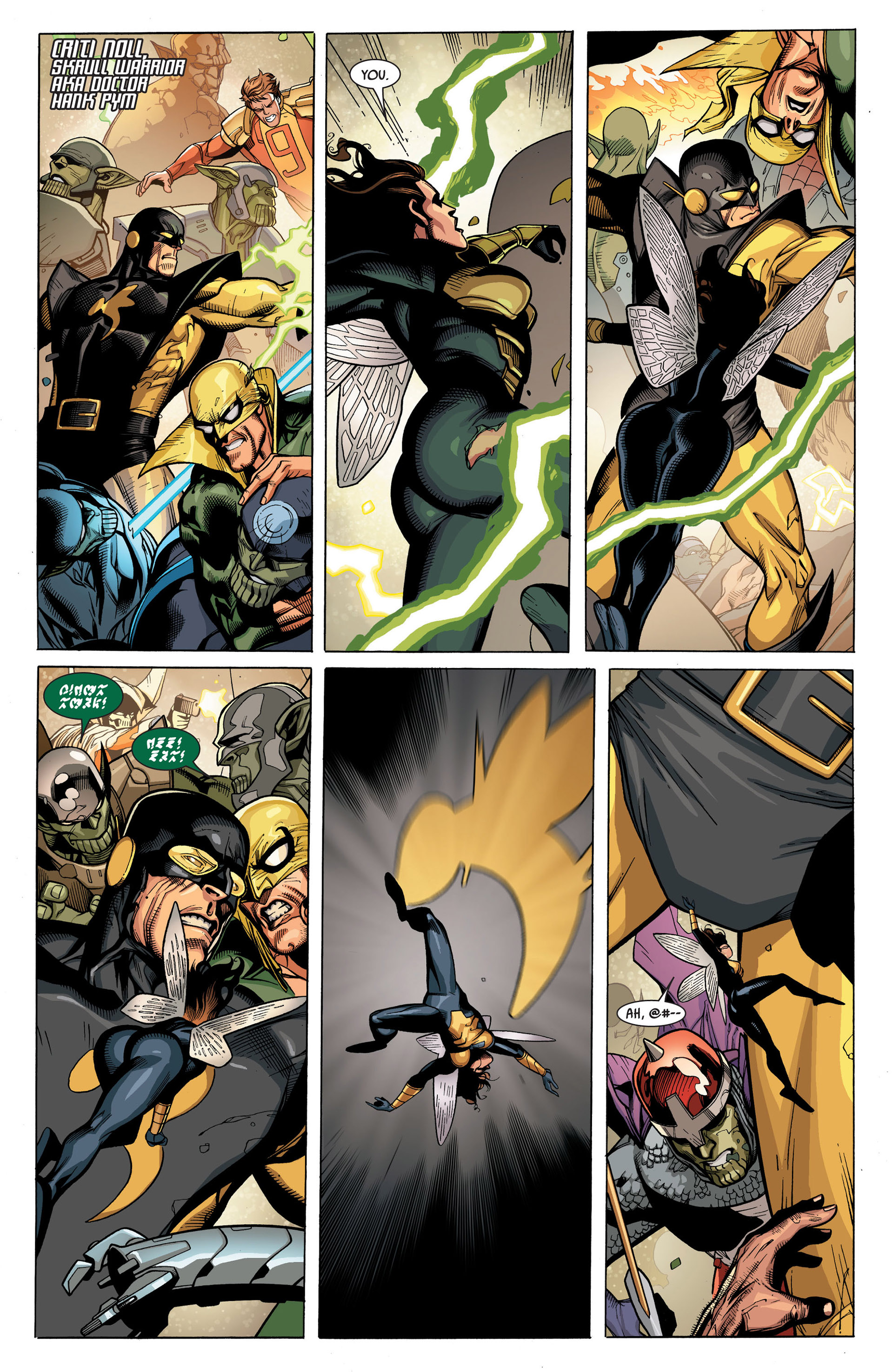 Read online Secret Invasion comic -  Issue #7 - 5