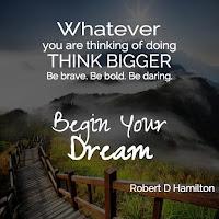 dream big for more success