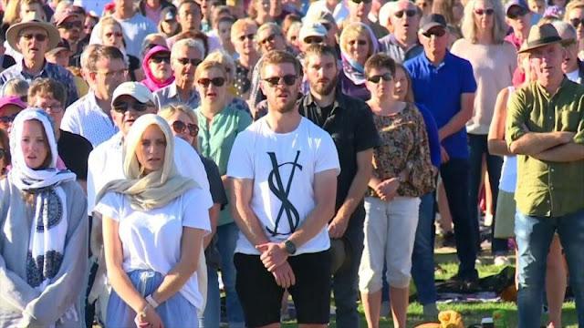 Celebran nueva vigilia en recuerdo a víctimas en Nueva Zelanda