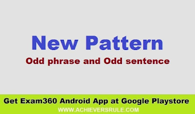New Pattern English: Odd phrase and Odd sentence