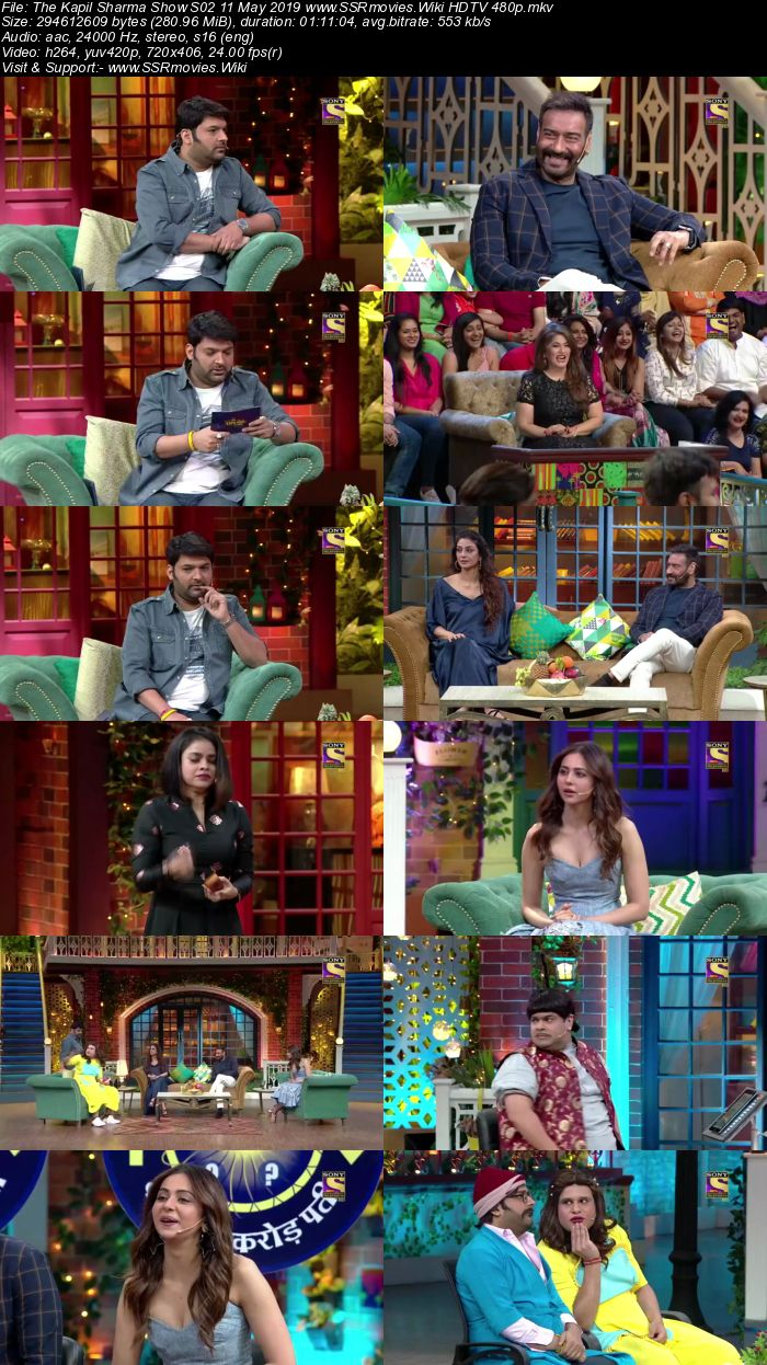 The Kapil Sharma Show S02 11 May 2019 Full Show Download HDTV HDRip 480p