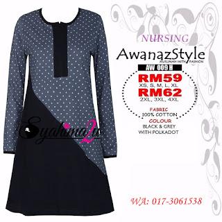 T-Shirt-Muslimah-Awanazstyle-AW009H