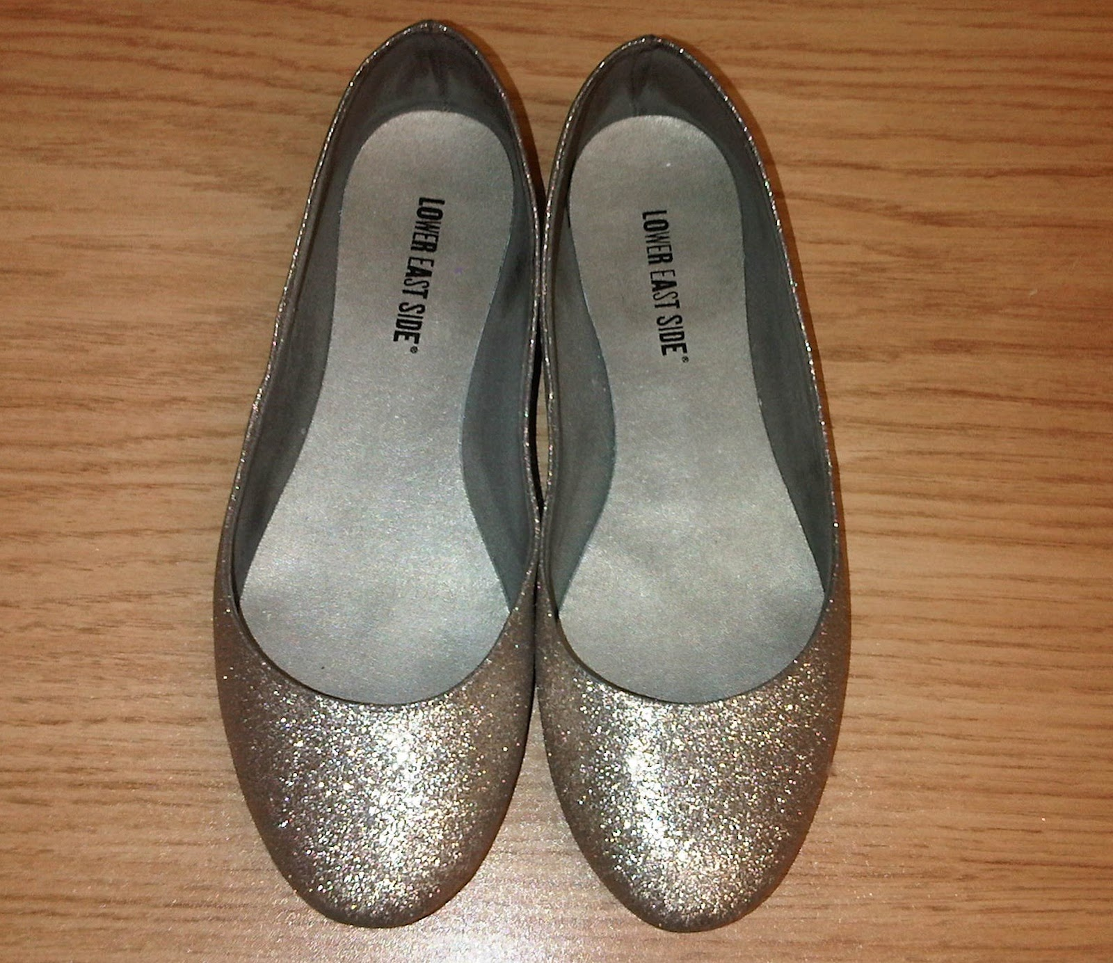 Obsessed Vol 1 My Payless Gold Glitter Flats