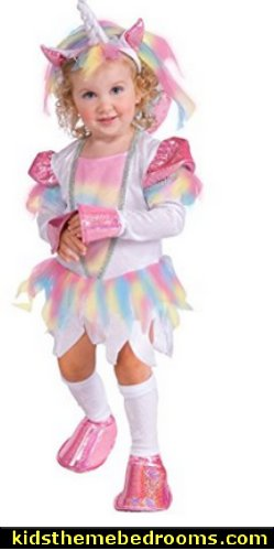 Rubie's Costume Deluxe Rainbow Unicorn Costume