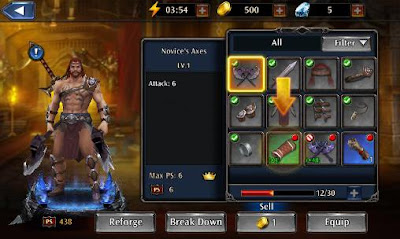 ETERNITY WARRIORS 4 APK + Data OBB Latest Version v1.3.0 Free Download For Android