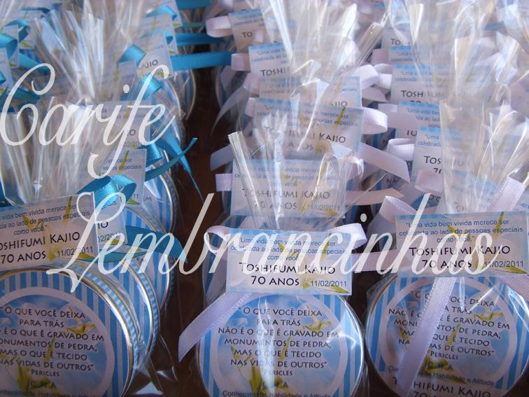 Mensagens De Aniversario 70 Anos: Carife Lembrancinhas, Brindes E Kits Criativos E Originais