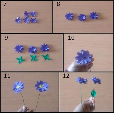 Tutorial Bunga Indah dari Kertas Origami 2