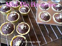 Resep Mini Pie Brownies