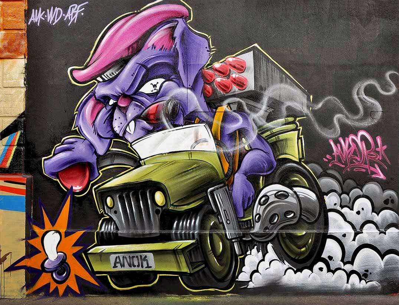 Graffiti creator 3d